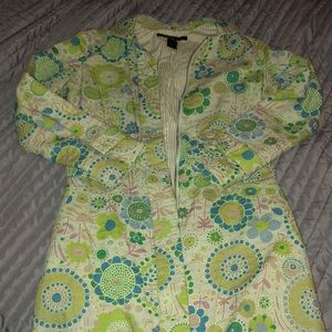 Marc Jacobs Patterned Trench Coat